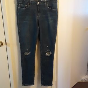 Lucky Brand ankle Jean's